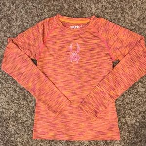 Spider Long Sleeve Top Shirt Girls Large L